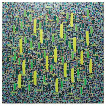 Chlorinated Kelp. Oil on Canvas, 152 cm x 152 cm, 2015
